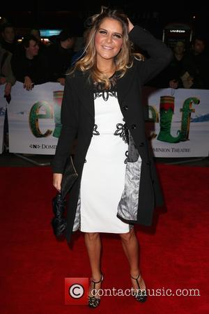 Gemma Oaten - Guests arrivals at Elf the Musical Gala Night at DominionTheatre - London, United Kingdom - Thursday 5th...