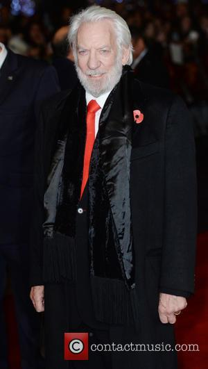 Donald Sutherland - The UK Premiere of The Hunger Games: Mockingjay Part 2 - Arrivals - London, United Kingdom -...