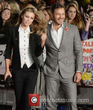 Abbey Clancy , Paul Culfor - The UK Premiere of The Hunger Games: Mockingjay Part 2 - Arrivals - London,...