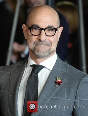 Stanley Tucci - The UK Premiere of The Hunger Games: Mockingjay Part 2 - Arrivals - London, United Kingdom -...