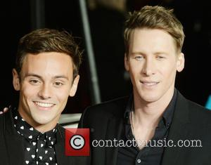 Tom Daley - The UK Premiere of The Hunger Games: Mockingjay Part 2 - Arrivals - London, United Kingdom -...