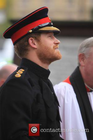 Prince Harry - The Duke of Edinburgh and Prince Harry pay their respects at Westminster Abbey's Field Of Remembrance. -...