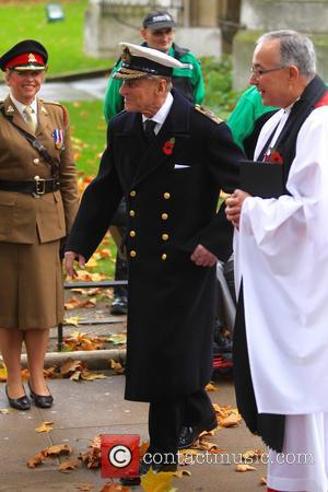 Prince Harry and Duke Of Edinburgh