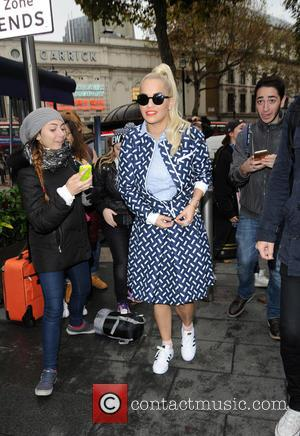 Rita Ora - Rita Ora arrives at Capital Radio - London, United Kingdom - Thursday 5th November 2015