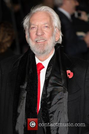 Donald Sutherland - The UK Premiere of The Hunger Games: Mockingjay Part 2 - Arrivals at Odeon Leicester Square -...