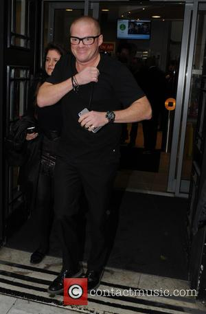 Heston Blumenthal - celebrities seen at BBC Radio One and Two Studios in London - London, United Kingdom - Friday...
