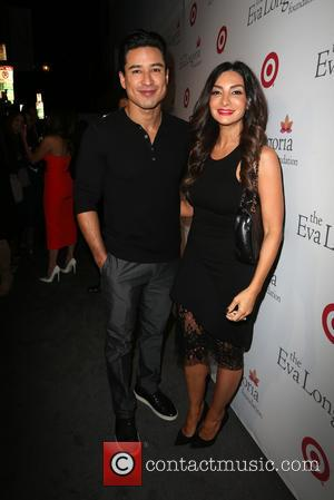 Mario Lopez , Courtney Mazza - The Eva Longoria Foundation Annual Dinner at Beso - Hollywood, California, United States -...