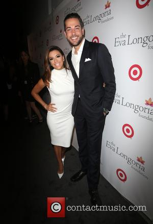 Eva Longoria and Zachary Levi