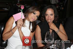 Eva Longoria and Judy Reyes