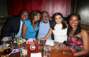 Rodney Peete, Holly Robinson Peete, Eva Longoria and Laysha Ward