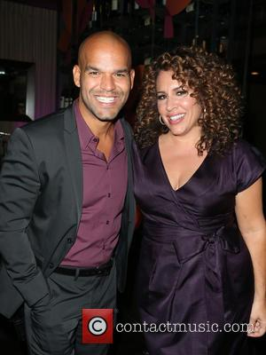 Amaury Nolasco , Guest - The Eva Longoria Foundation Annual Dinner_Inside at Beso - Hollywood, California, United States - Friday...