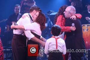 Josh Segarra, Gloria Estefan, Ana Villafane and Emilio Estefan