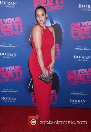 Dascha Polanco - Opening night party for On Your Feet at the New York Marriott Marquis Hotel - Arrivals. at...