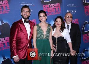Josh Segarra, Ana Villafane, Gloria Estefan and Emilio Estefan