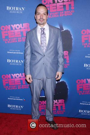 Marcos Santana - Opening night party for On Your Feet at the New York Marriott Marquis Hotel - Arrivals. at...
