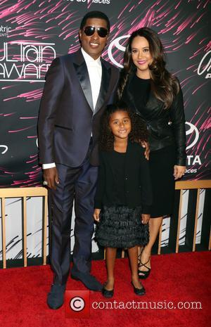 Babyface Edmonds, Peyton Edmonds , Nicole Pantenburg - 2015 Soul Train Music Awards held at the Orleans Arena inside The...