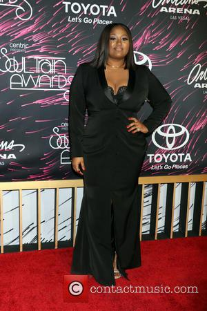 Jazmine Sullivan - 2015 Soul Train Music Awards held at the Orleans Arena inside The Orleans Hotel & Casino -...