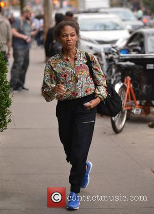 Nicole Beharie - Nicole Beharie out and about in Manhattan - New York City, New York, United States - Friday...