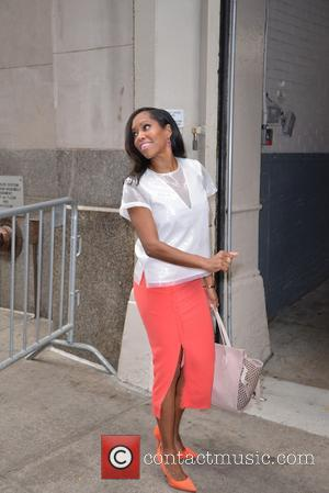Regina King - Regina King at the Huffington Post - New York City, New York, United States - Friday 6th...