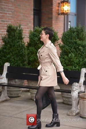 Rose McGowan - Rose McGowan returns to her Manhattan hotel - New York City, New York, United States - Friday...