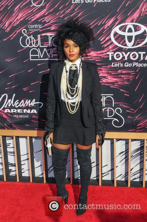 Janelle Monae - 2015 Soul Train Music Awards held at the Orleans Arena inside The Orleans Hotel & Casino -...