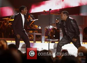 Kenny Baby Face Edmonds and Bobby Brown