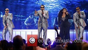 Jazmine Sullivan , After 7 - 2015 Soul Train Music Awards Show at The Orleans Arena at The Orleans Arena...