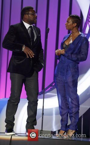 Malcolm Jamal Warner and Eva Marcille