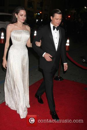 Angelina Jolie Pitt , Brad Pitt - AFI Fest Presented by Audi Opening Night Gala