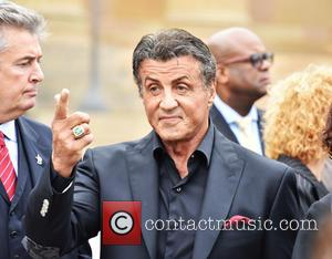 Sylvester Stallone - The cast of 'Creed' at a press conference on the steps of the Philadelphia Museum of Art...
