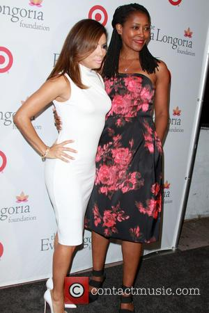 Eva Longoria , Laysha Ward - Eva Longoria Foundation Dinner held at her restaurant Beso in Hollywood at Beso Restaurant...