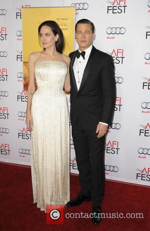 Angelina Jolie , Brad Pitt - Film Premiere of By The Sea - Los Angeles, California, United States - Friday...