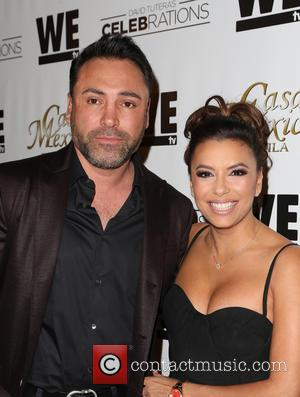 Oscar De La Hoya , Eva Longoria - Mario Lopez Introduces Casa Mexico Tequila On WE tv's David Tutera CELEBrations...