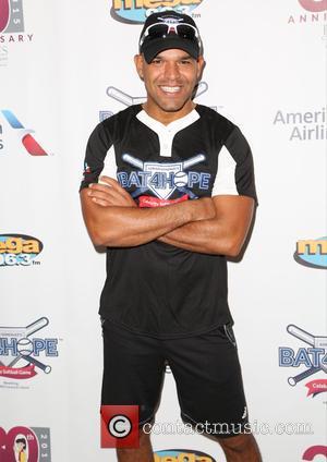 Amaury Nolasco - Adrian Gonzalez's Bat 4 Hope Celebrity Softball Game at Dodger Stadium at Dodger Stadium Los Angeles -...