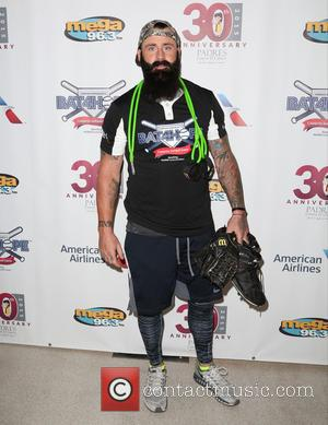 Brian Wilson - Adrian Gonzalez's Bat 4 Hope Celebrity Softball Game at Dodger Stadium at Dodger Stadium Los Angeles -...
