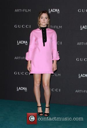 Saoirse Ronan - LACMA Art + Film Gala - Arrivals at LACMA - Los Angeles, California, United States - Saturday...
