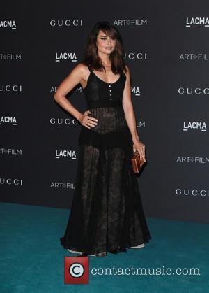 Mia Maestro - LACMA Art + Film Gala - Arrivals at LACMA - Los Angeles, California, United States - Saturday...