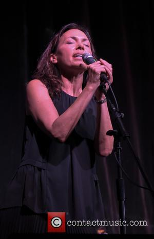 Susanna Hoffs - Those Pretty Wrongs and Dan Wilson perform at the IVAR Theater benefiting the Autism Think Tank at...