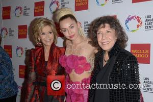 Jane Fonda, Miley Cyrus and Lily Tomlin