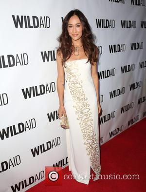 Maggie Q - Celebrities attend the WildAid Los Angeles fundraiser 'An Evening in Africa' at Montage Beverly Hills - Arrivals...