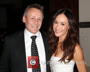 Peter Knights and Maggie Q