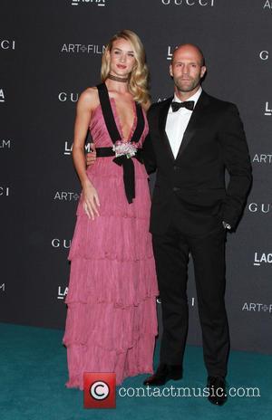 Rosie Huntington Whiteley, Jason Statham, Rosie Huntington Whiteley , Jason Statham - 2015 LACMA Art + Film Gala held at...