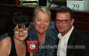 Pauley Perrette, Lorri L. Jean , Thomas Arklie - The Los Angeles LGBT Center's 46th Anniversary Gala Vanguard Awards_Inside at...
