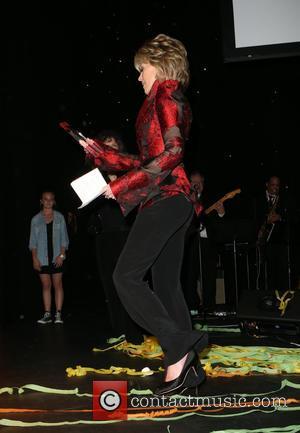 Jane Fonda - The Los Angeles LGBT Center's 46th Anniversary Gala Vanguard Awards_Inside at Hyatt Regency Century Plaza - Los...