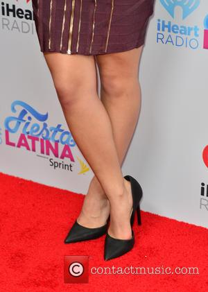 Becky G - I Heart Radio Festival Latina at American Airlines Arena - Arrivals at American Airlines Arena - Miami,...