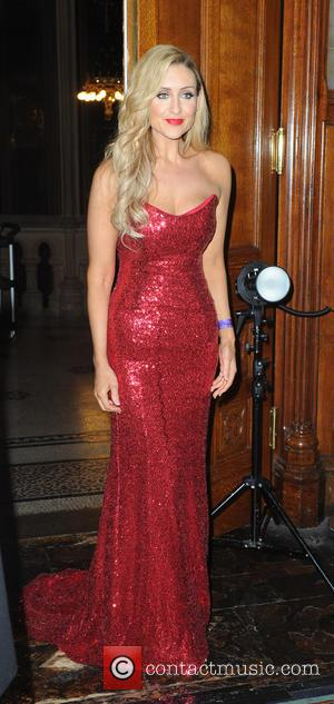 Catherine Tyldesley - Manchester City Centre Christmas light switch-on at Albert Square - Manchester, United Kingdom - Saturday 7th November...