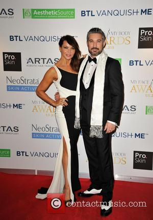 Lizzie Cundy , Stephen Handisides - Celebrities attend the My Face My Body Awards at the Intercontinental Hotel in London....
