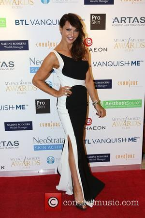Lizzie Cundy - Lizzie Cundy attends the My Face My Body Awards at the Intercontinental Hotel in London. The Fourth...
