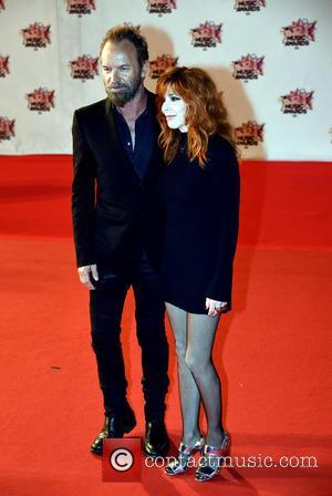 Sting and Mylène Farmer