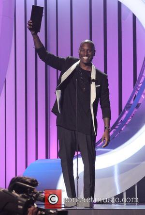 Tyrese Gibson - 2015 Soul Train Music Awards held at Orleans Arena - Show - Las Vegas, Nevada, United States...